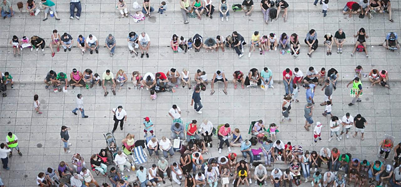 people-birds-eye-view-image